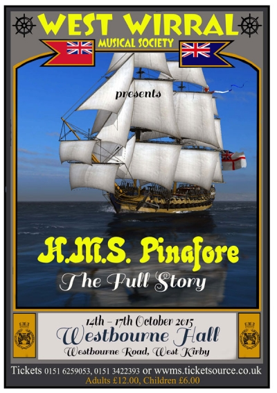 Poster for HMS Pinafore - The Full story